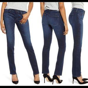 Anthro AG Harper Slim Straight Leg Jeans💋